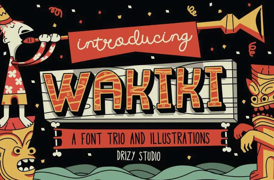 Wakiki Font