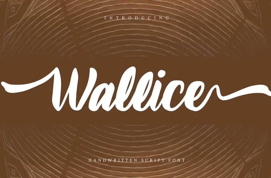 Wallice Font