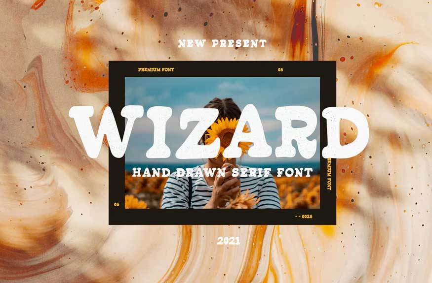 Wizard Font