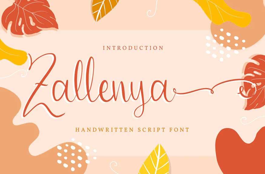 Zallenya Font
