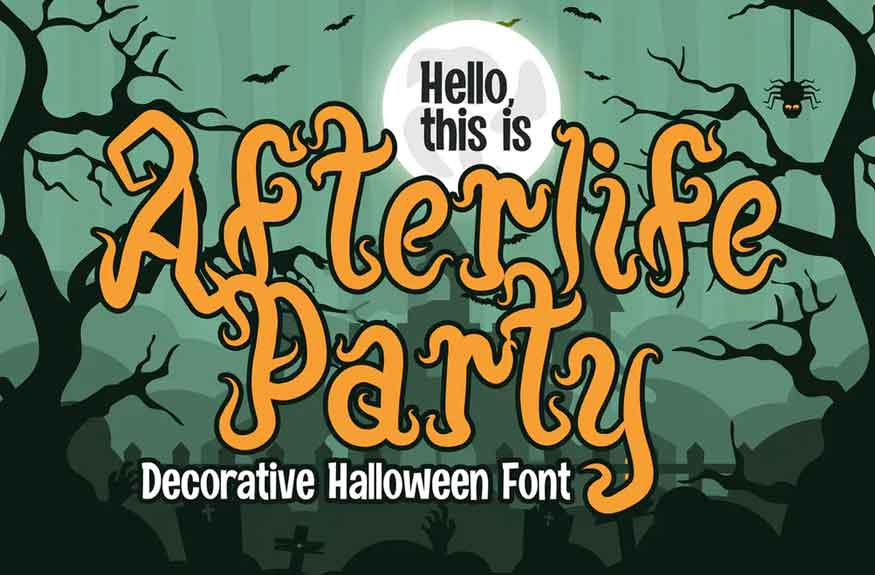 Afterlife Party Font