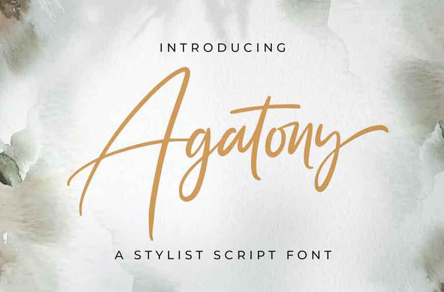Agatony Font