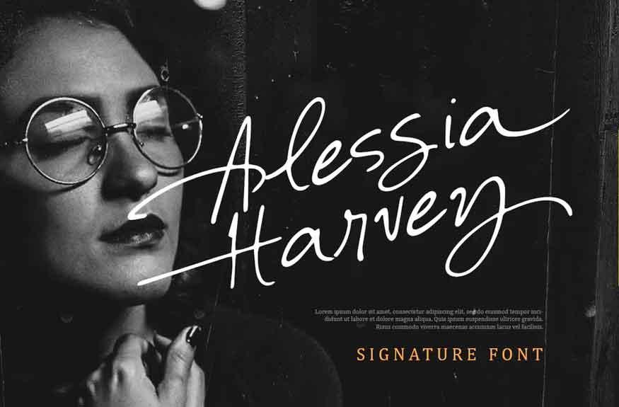 Alessia Harvey Font
