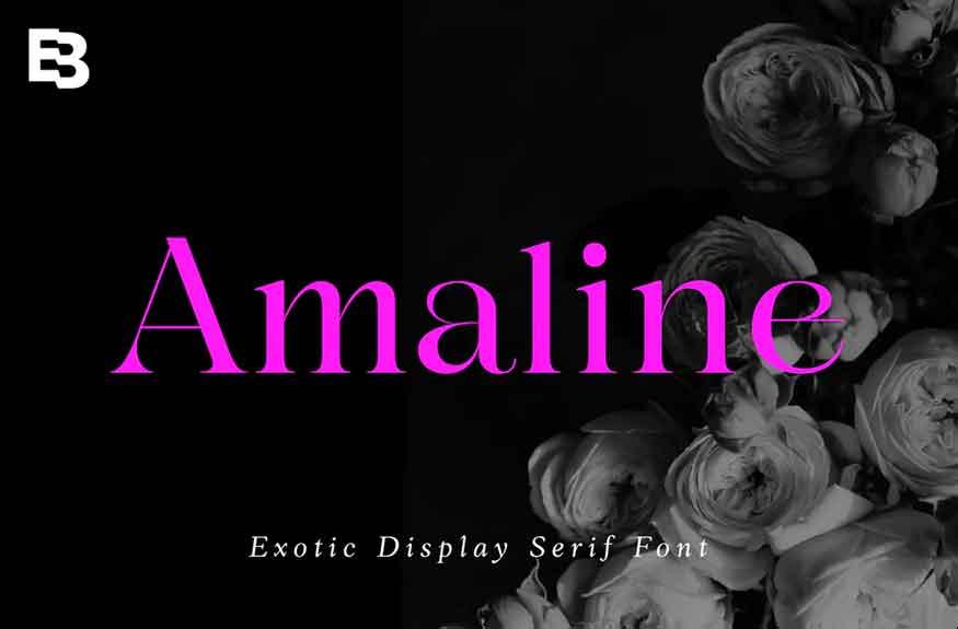 Amaline Font