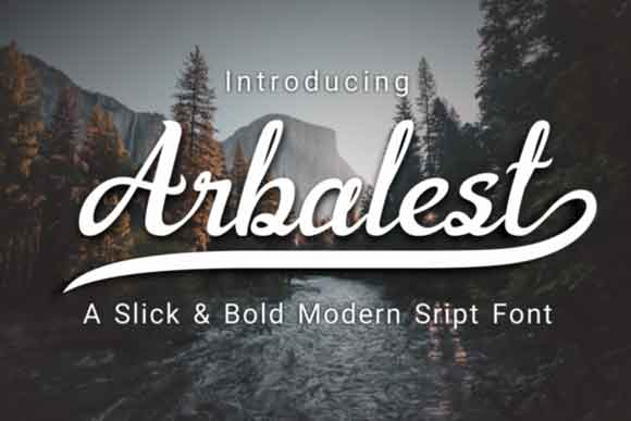Arbalest Font