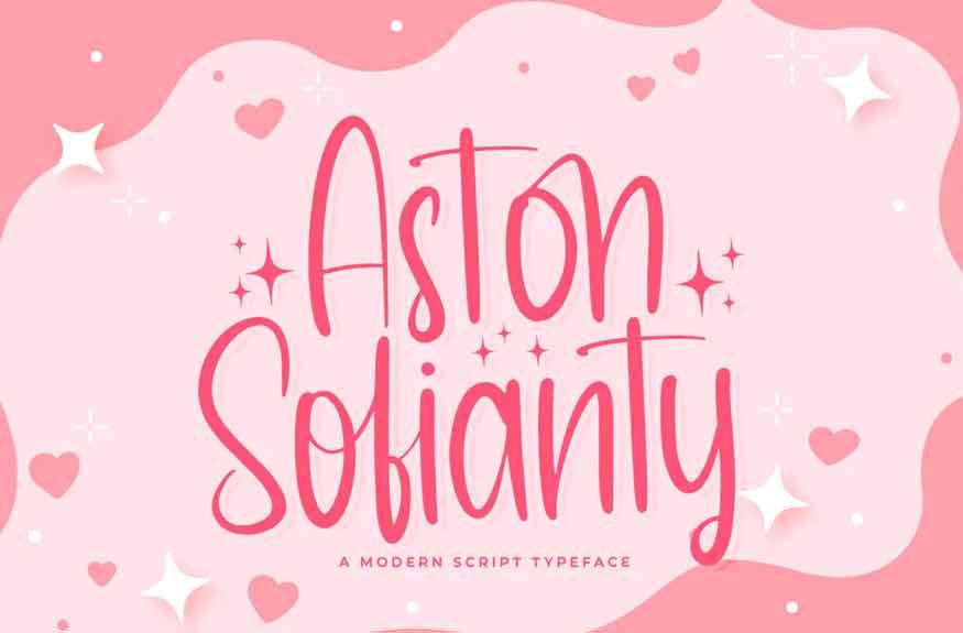 Aston Sofianty Font