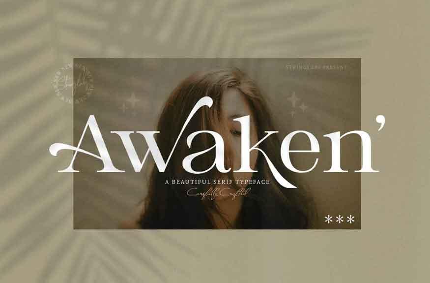 Awaken Font