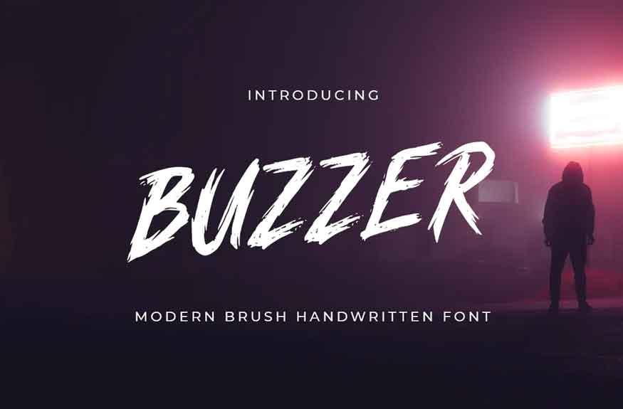 BUZZER Font
