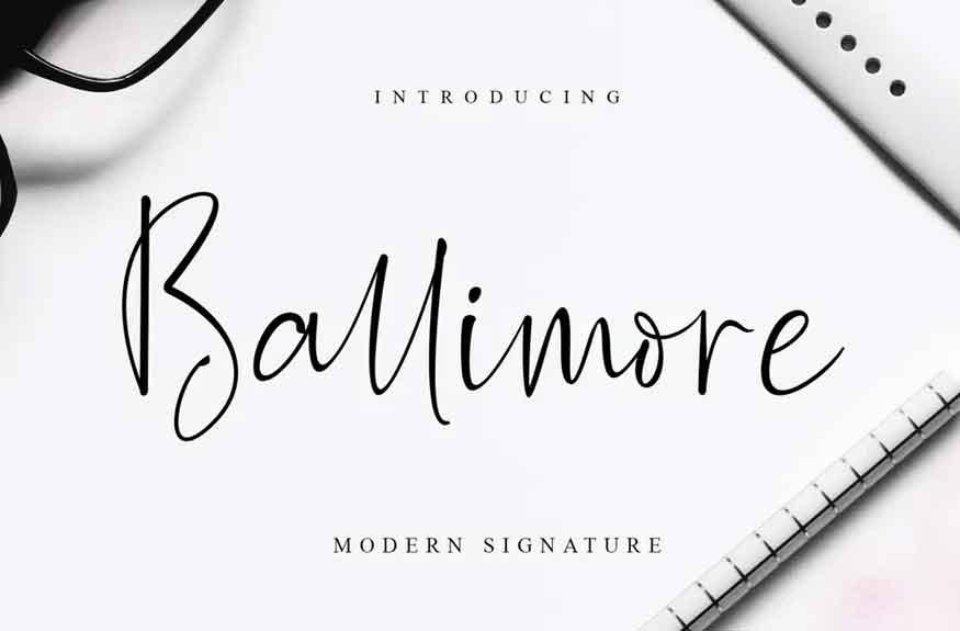 Ballimore Font