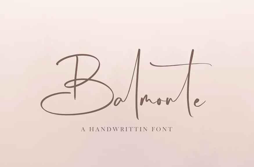 Balmonte Font