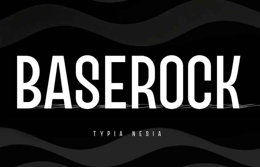 Baserock Font