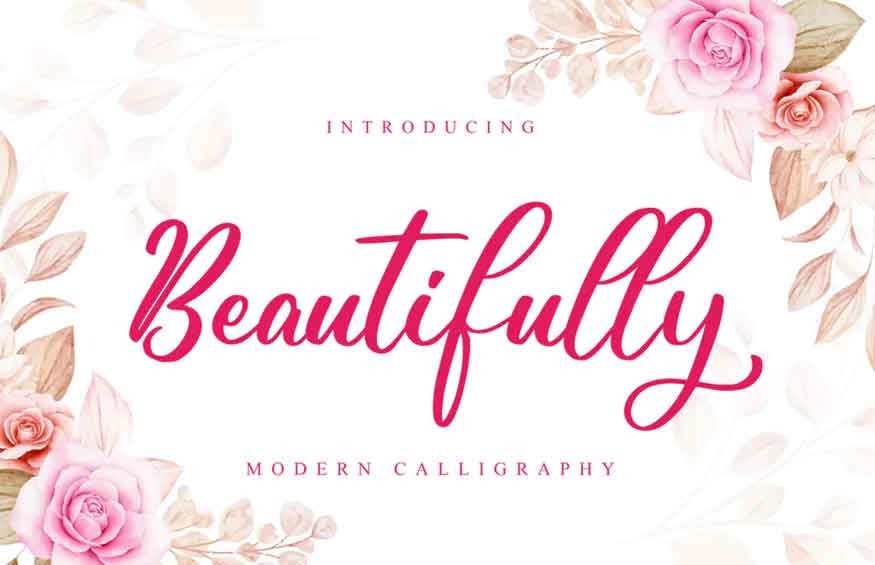 Beautifully Font