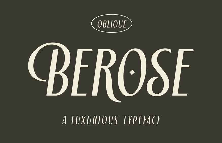 Berose Oblique