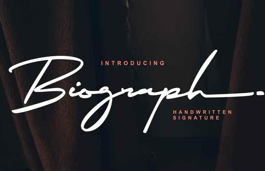 Biograph Font