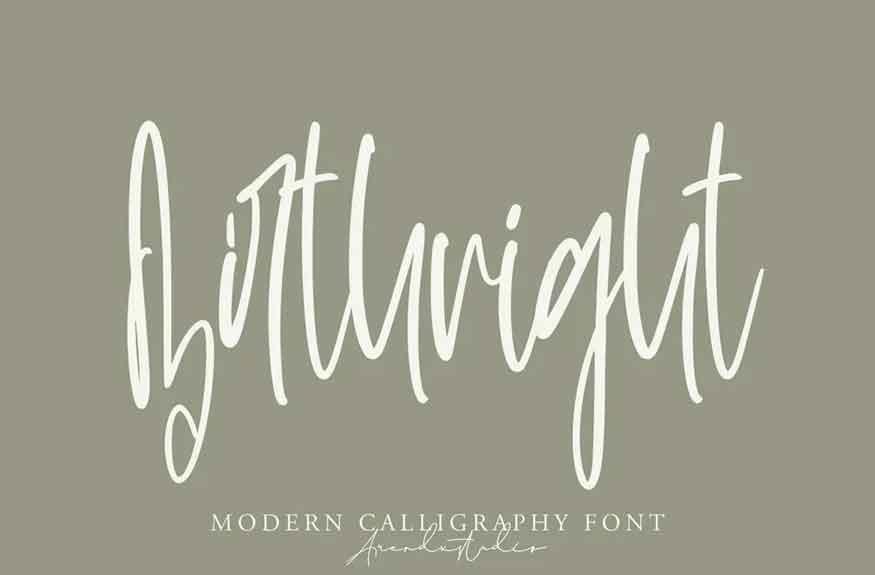 Birthright Font