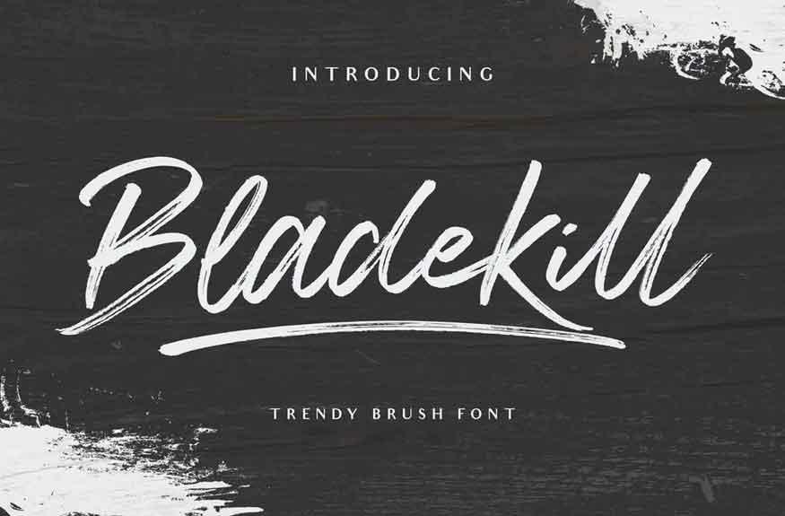 Bladekill Font