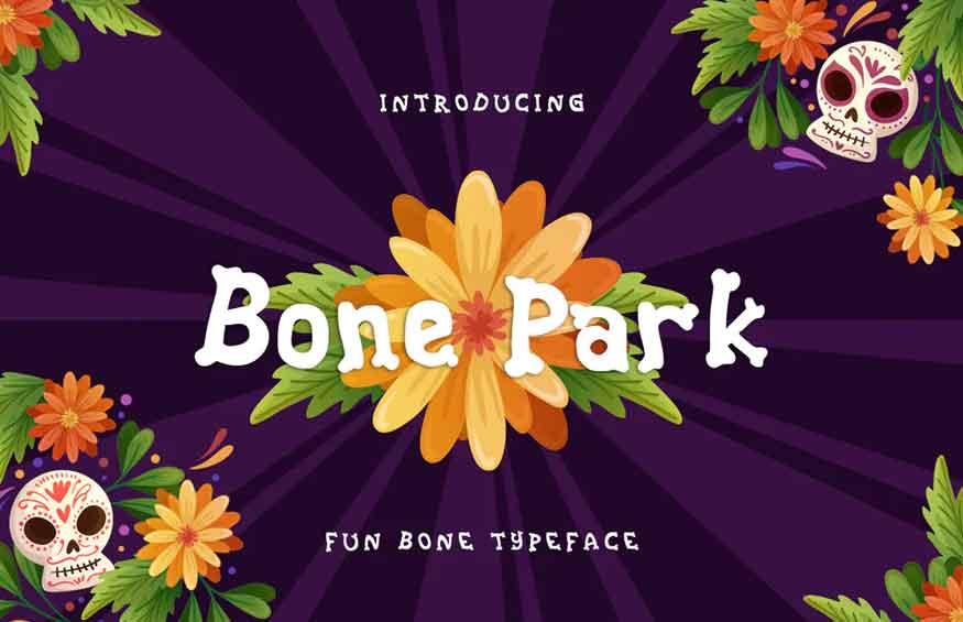 Bone Park Font
