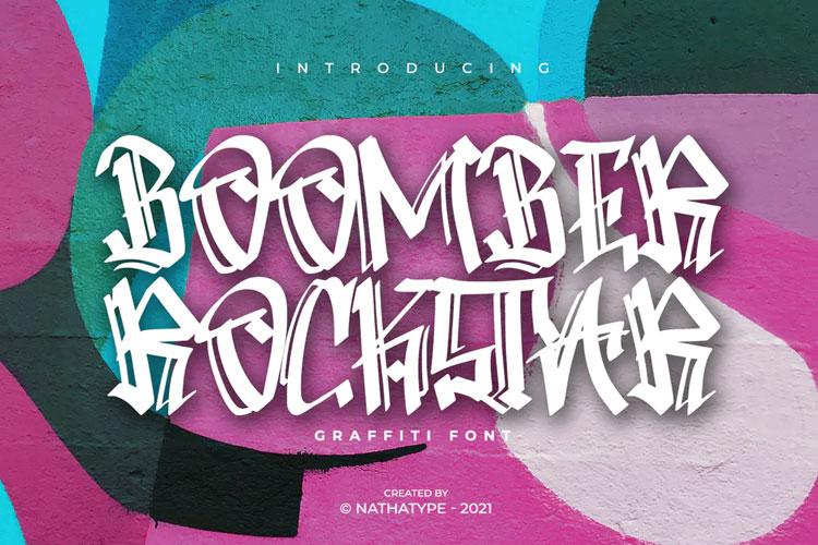Boomber Rockstar Font