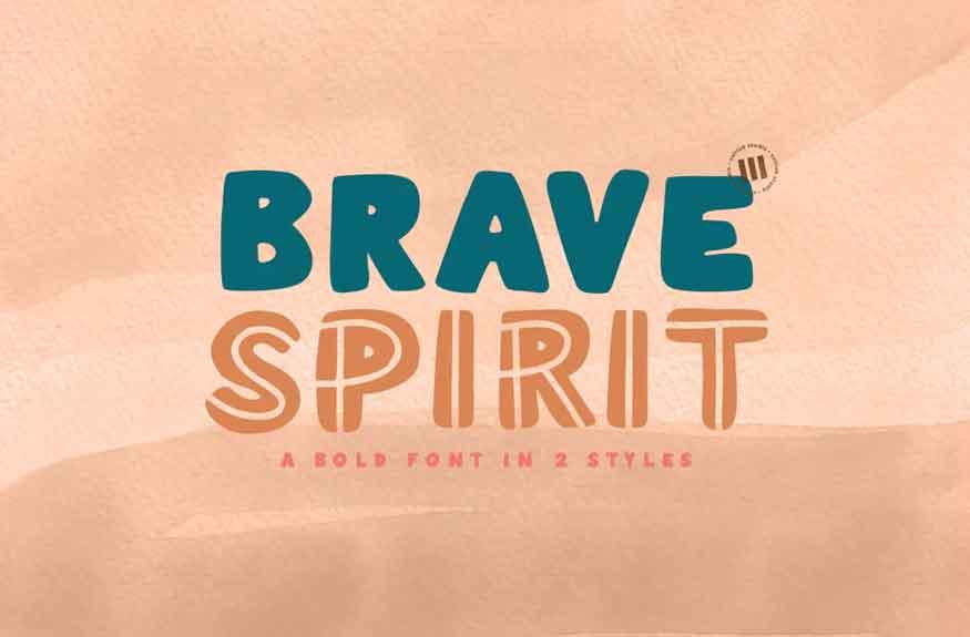 Brave Spirit Font
