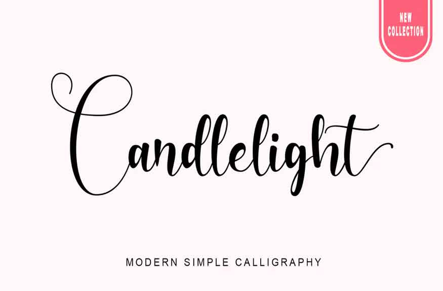 Candlelight Font