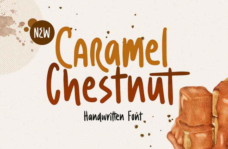Caramel Chestnut Font