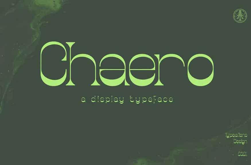 Chaero Font