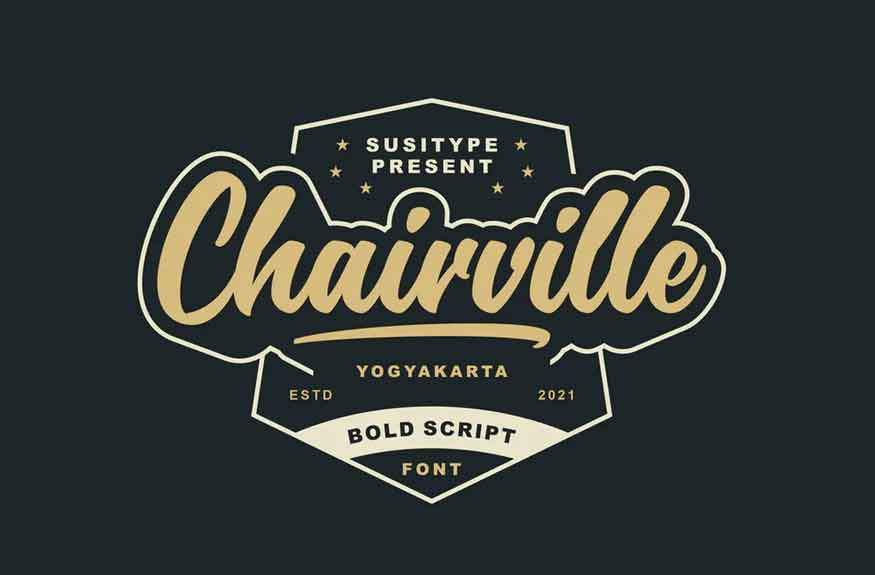 Chairville Font