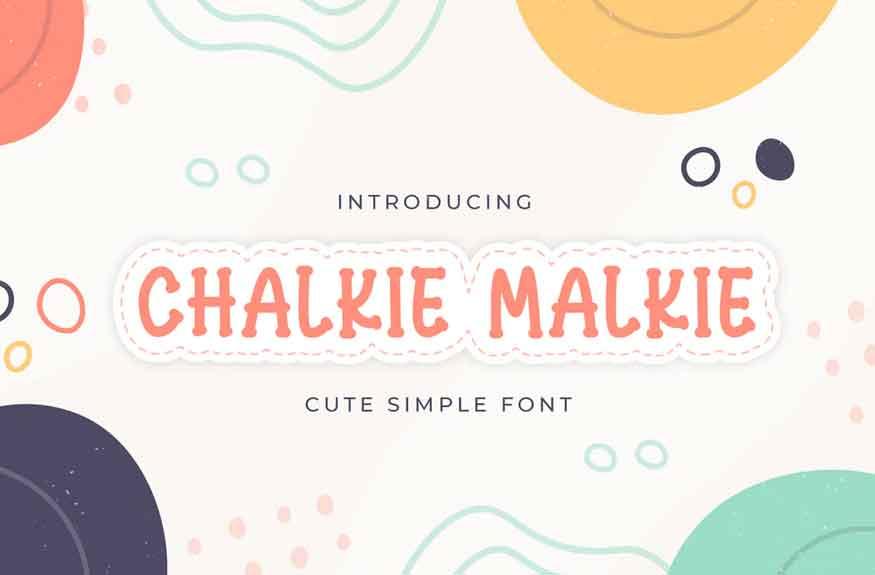 Chalkie Malkie Font