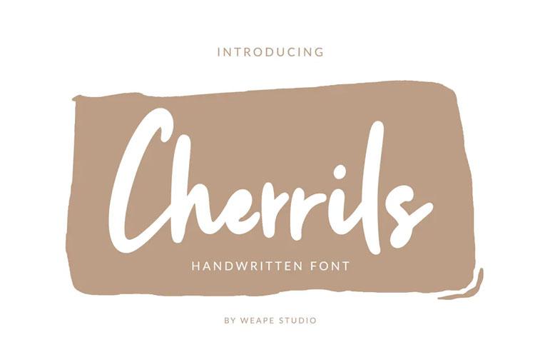 Cherrils Font