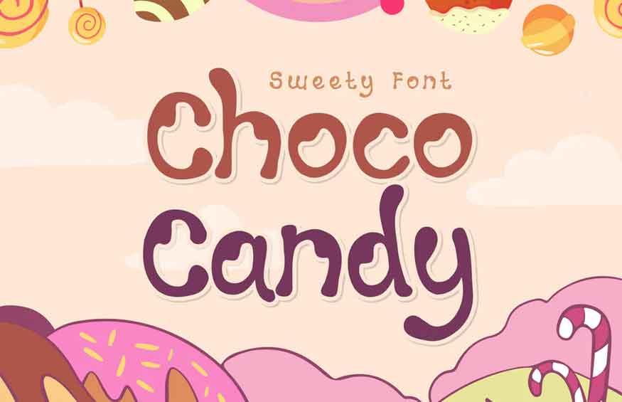 Choco Candy Font