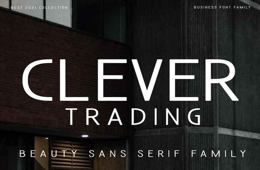 Clever Trading Font