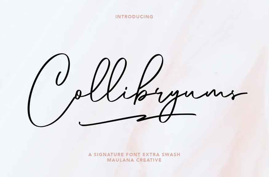 Collibryums Font