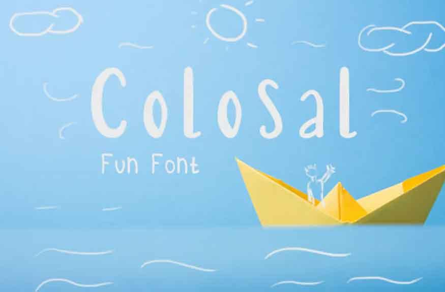 Colosal Font