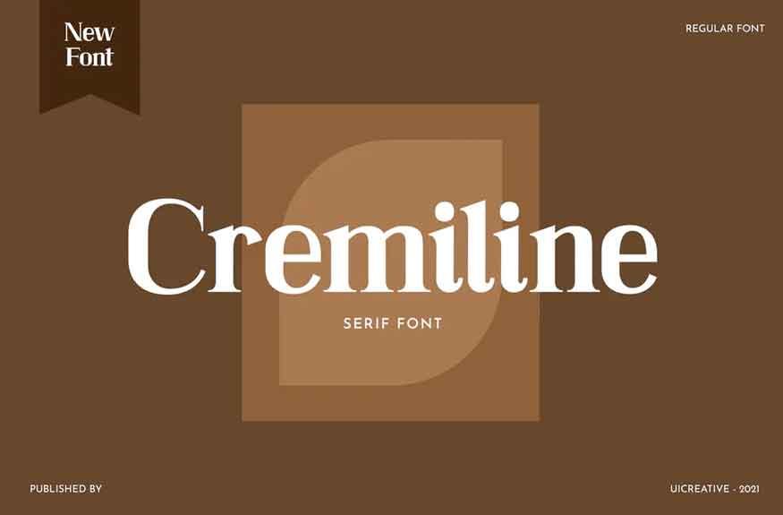 Cremiline Font