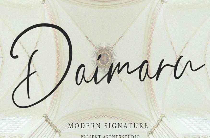 Daimaru Font