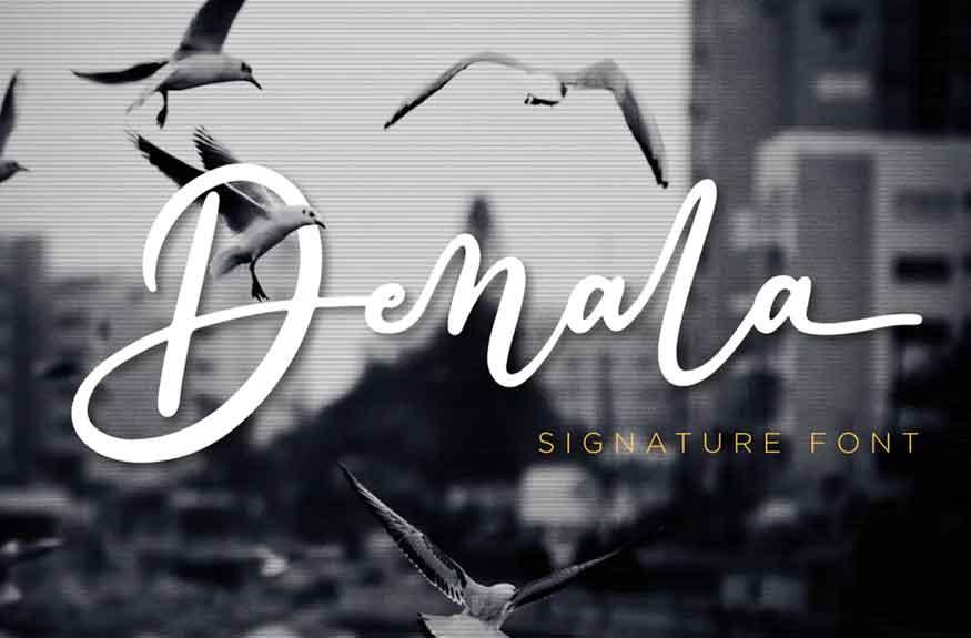 Denala Font