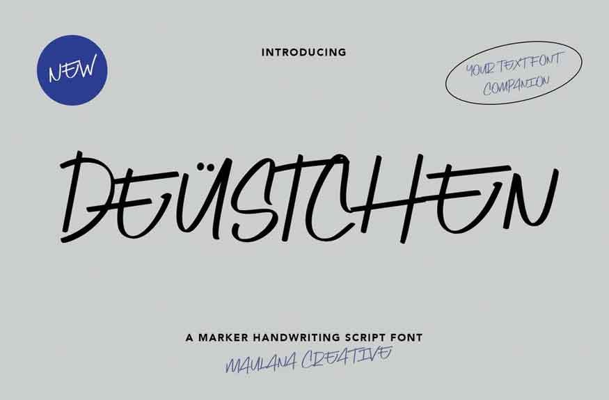 Deustchen Font