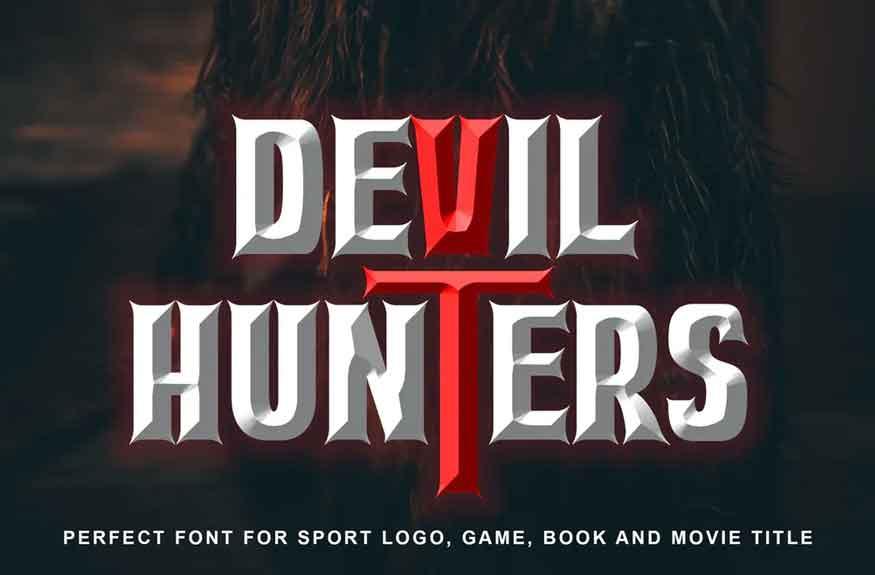 Devil Hunter Font