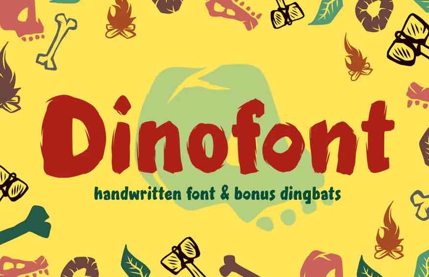 Dinofont Font