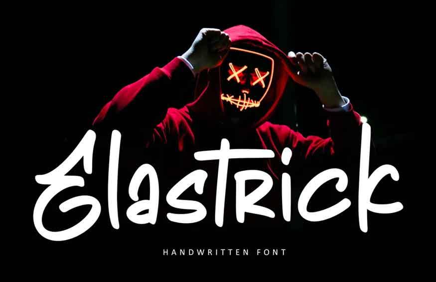 Elastric Font