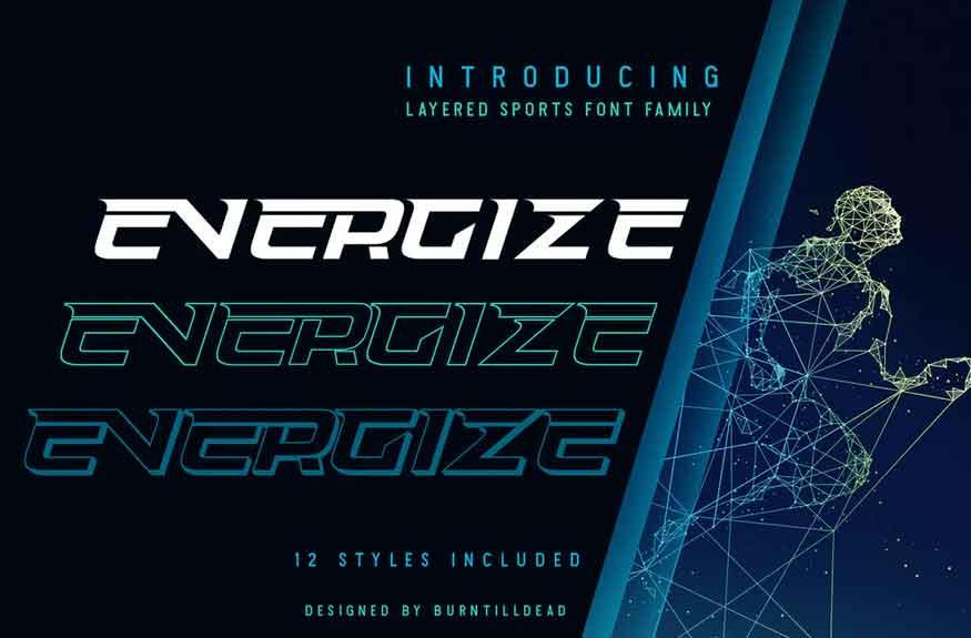 Energize Font