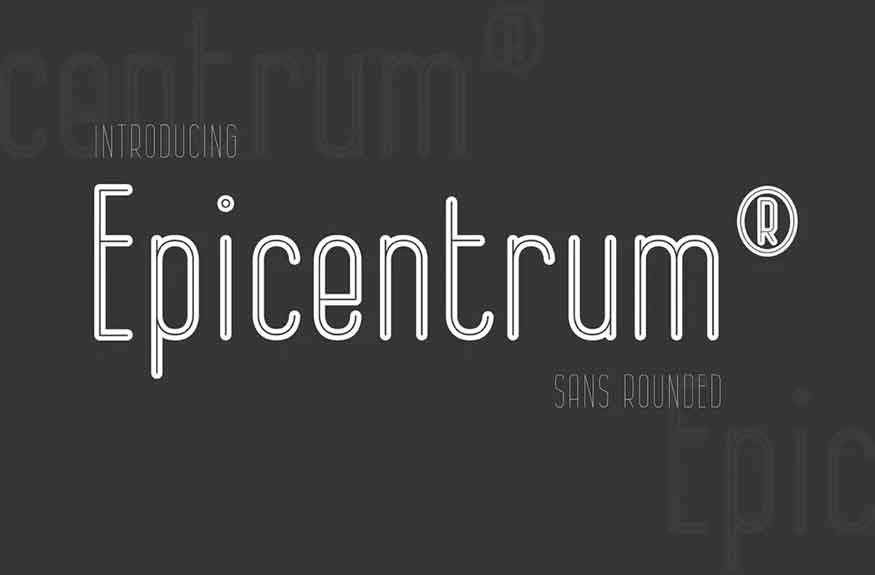Epicentrum Font