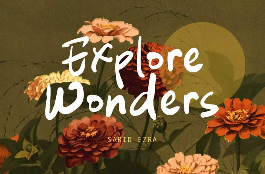 Explore Wanders Font