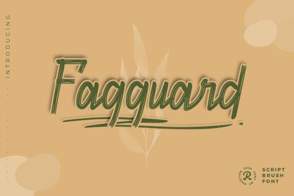 Fagguard Font