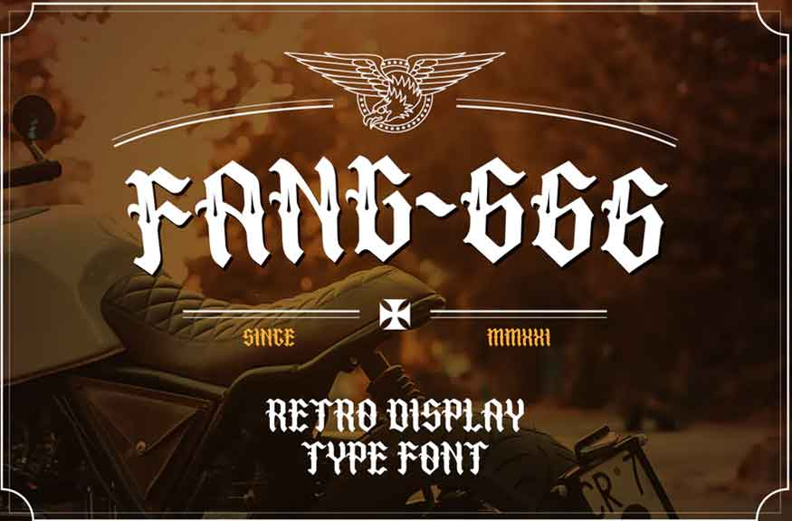 Fang-666 Font
