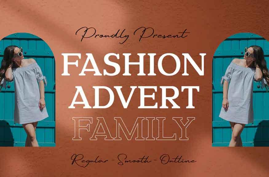 Fashion Advert Font