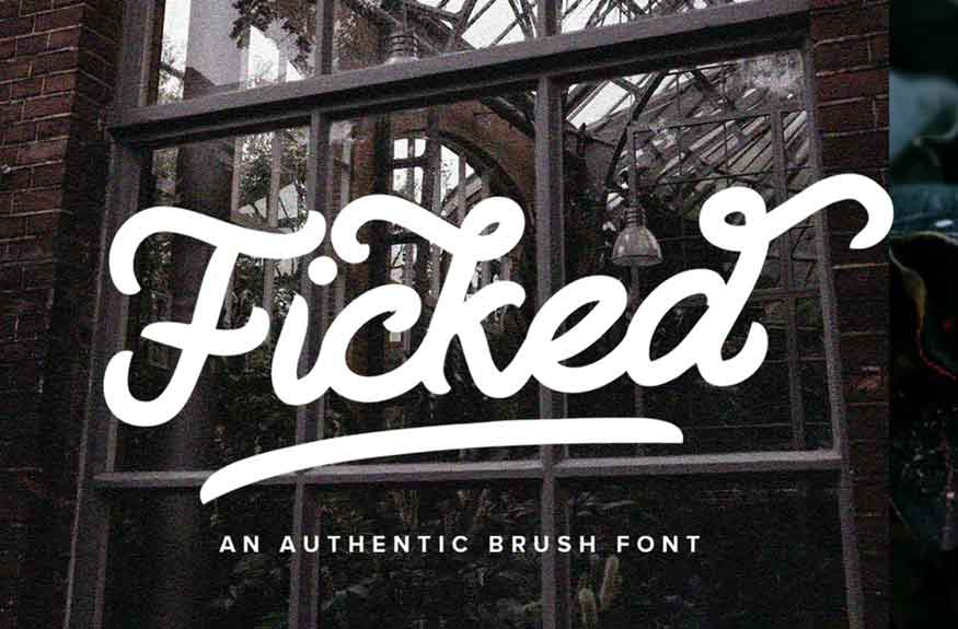 Ficked Font