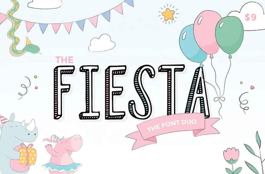 Fiesta Font Duo