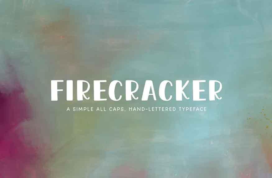 Firecracker Font