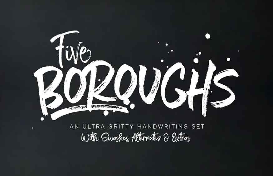 Five Boroughs Font